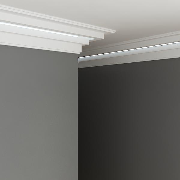 indirect lighting ceiling. Home / Indirect Lighting Ceiling Cornice KF705 N