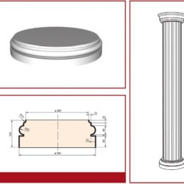 Facade columns and pilasters