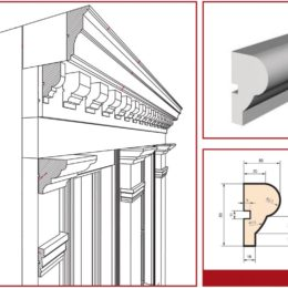 Facade mouldings